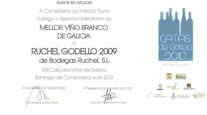 Mejor vino galicia 2009