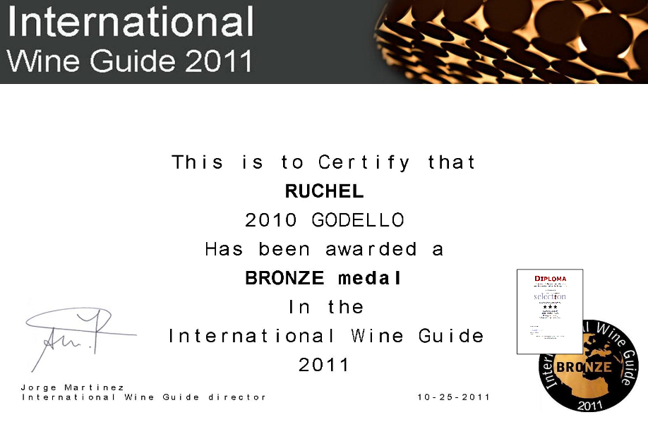 INTERNACIONAL WINE GUIDE 2011