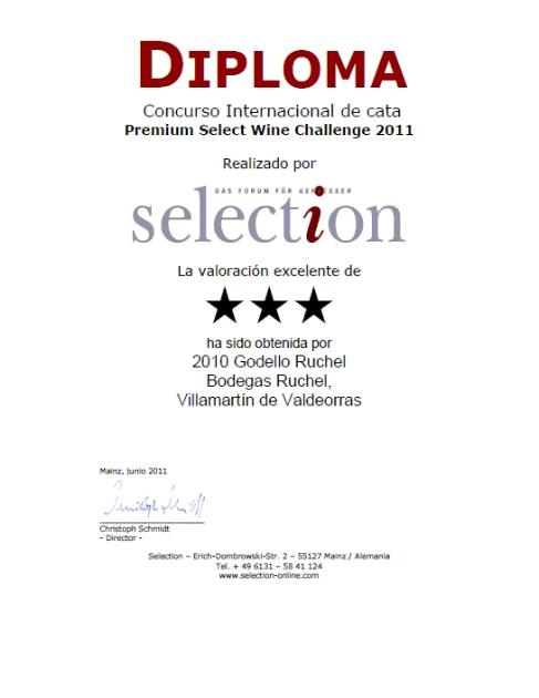 CONCURSO PREMIUM WINE SELECT WINE CHALLENGE 2011